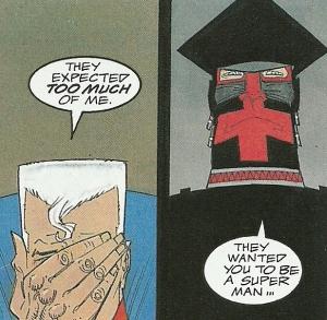 """Imagen de """"Marshall Law"""", comic  de Mills & O'Neill."""